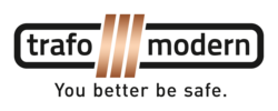 Trafomodern_Logo_Claim_2015_rgb_transparent / Zum Vergr��ern auf das Bild klicken